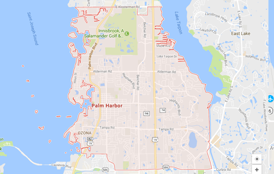 Get a fair market value for your house in Palm Harbor at Fastoffernow
