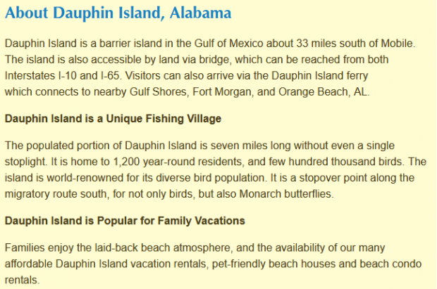 Fast house sale in Dauphin Islands, Alabama with Fastoffernow.com