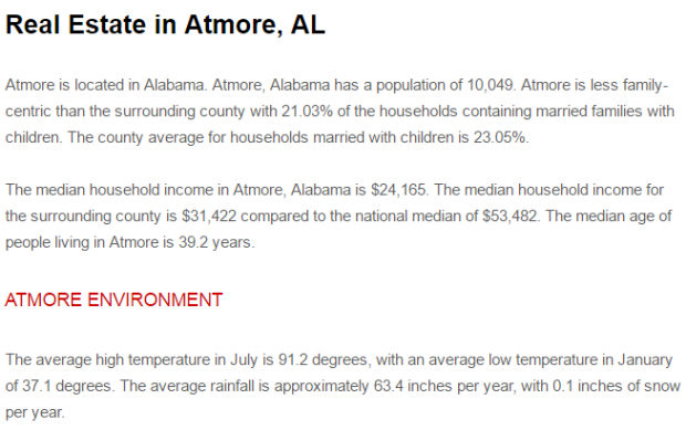 Sell my house fast for cash at Atmore, Al