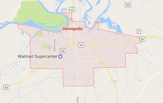 Quick home sale in Demopolis Alabama