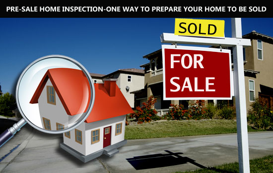 Pre-sale Home Inspection-One way to prepare your home fast sold