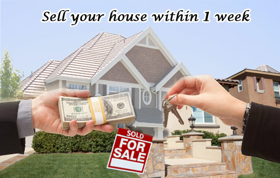 Sell your house within 1 week