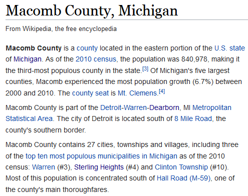 Sell your house in Macomb, Michigan